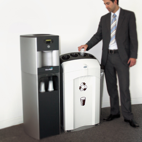 Nexus 100 cup bank cestino per raccolta bicchieri e liquidi