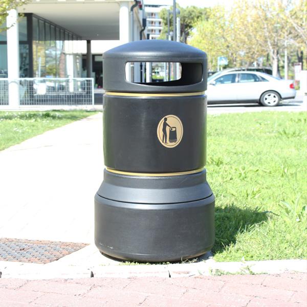 cestino per esterni e arredo urbano plaza