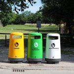 Topsy cestini per raccolta differenziata esterna