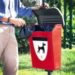 cestino per deiezioni canine fido 25